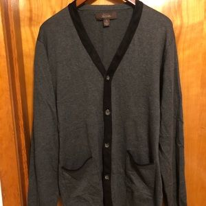 Tasso Elba men's cardigan